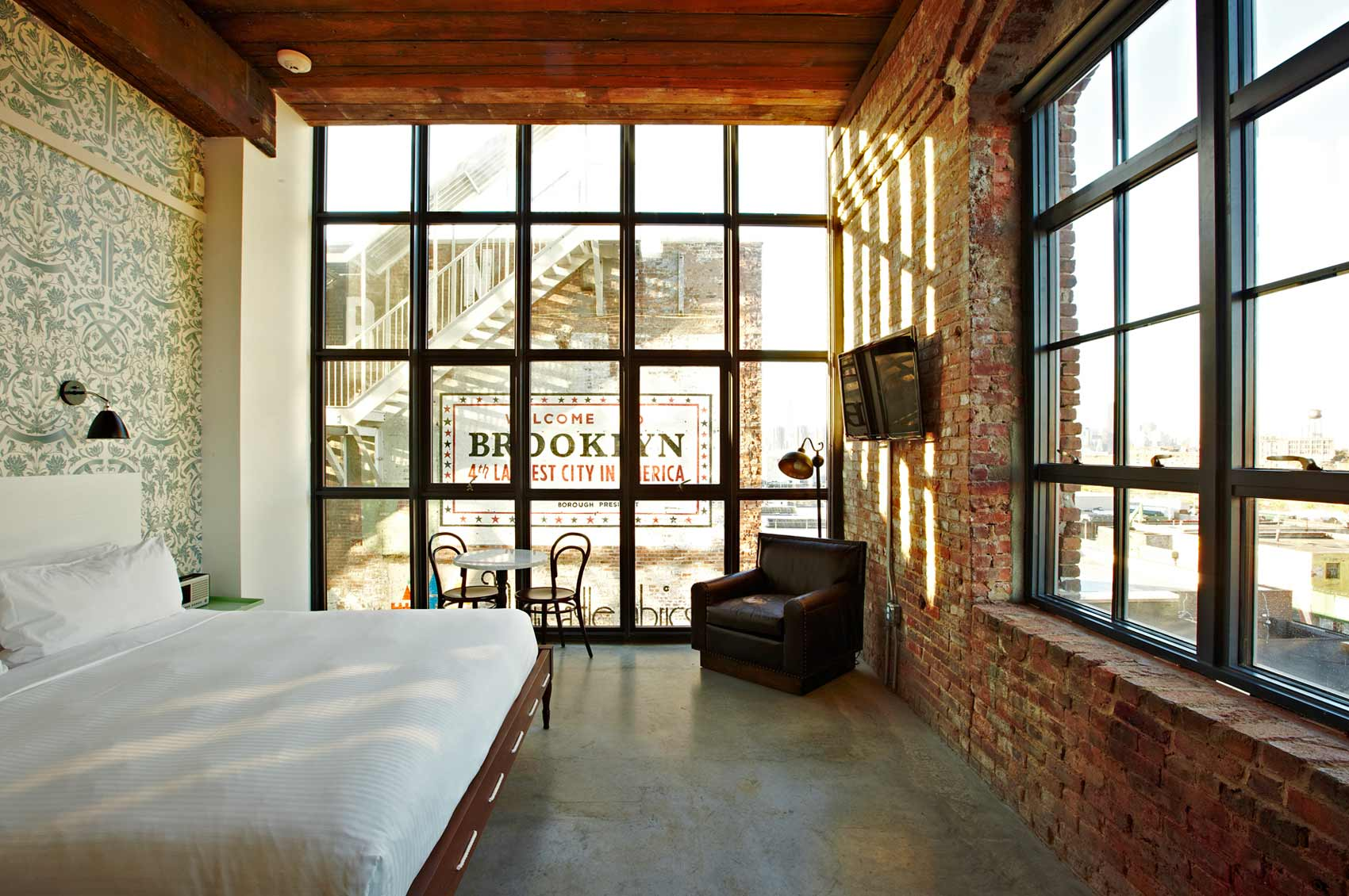 Brooklyn S Wythe Hotel Continues Its Transformation With Technology