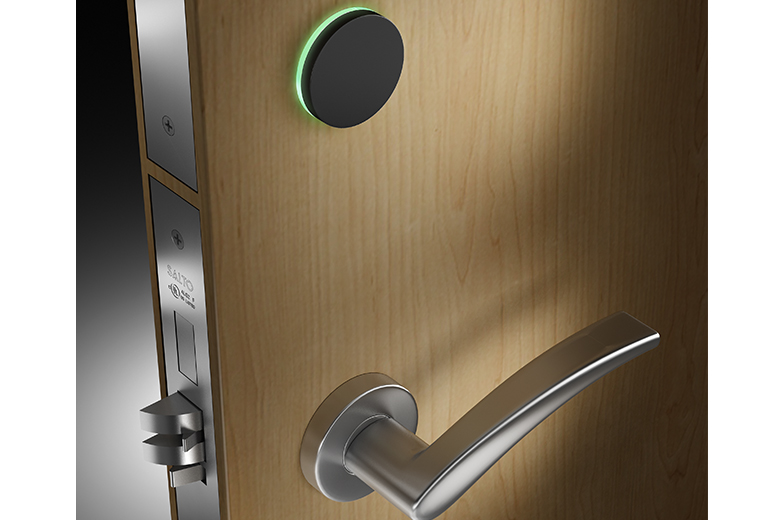 Charmant SALTO Releases Sleek New AElement Fusion Electronic Hotel Lock With RFID,  Wireless And Mobile Technology
