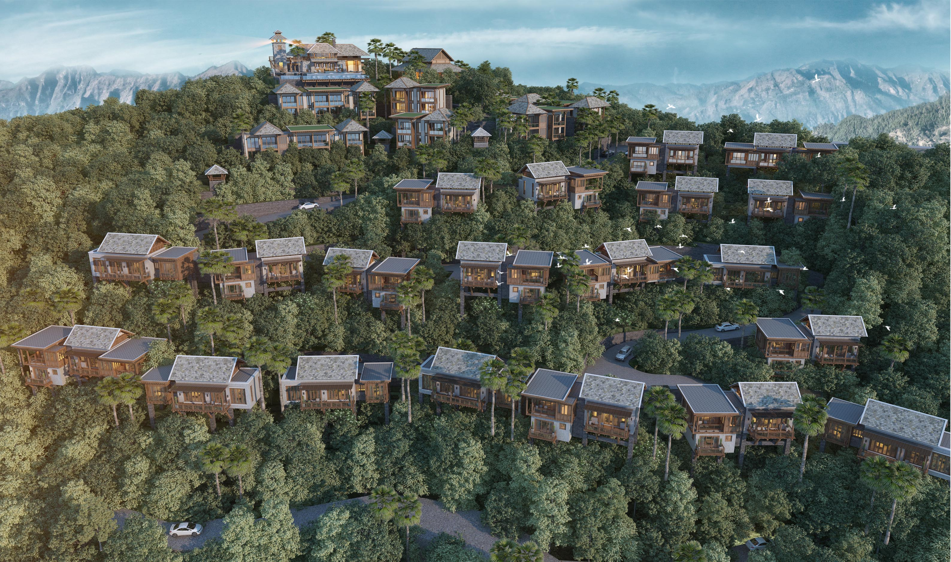 dusit international to make nepal debut with luxury mountaintop