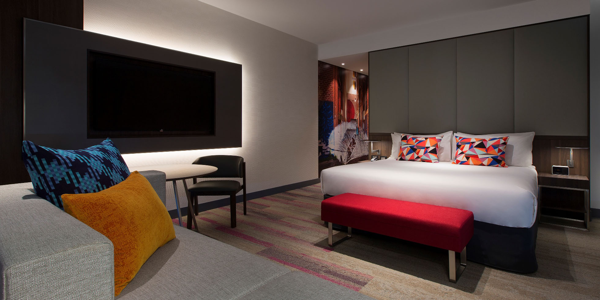 Aloft perth hotel opens marking the exciting debut of for International decor brands