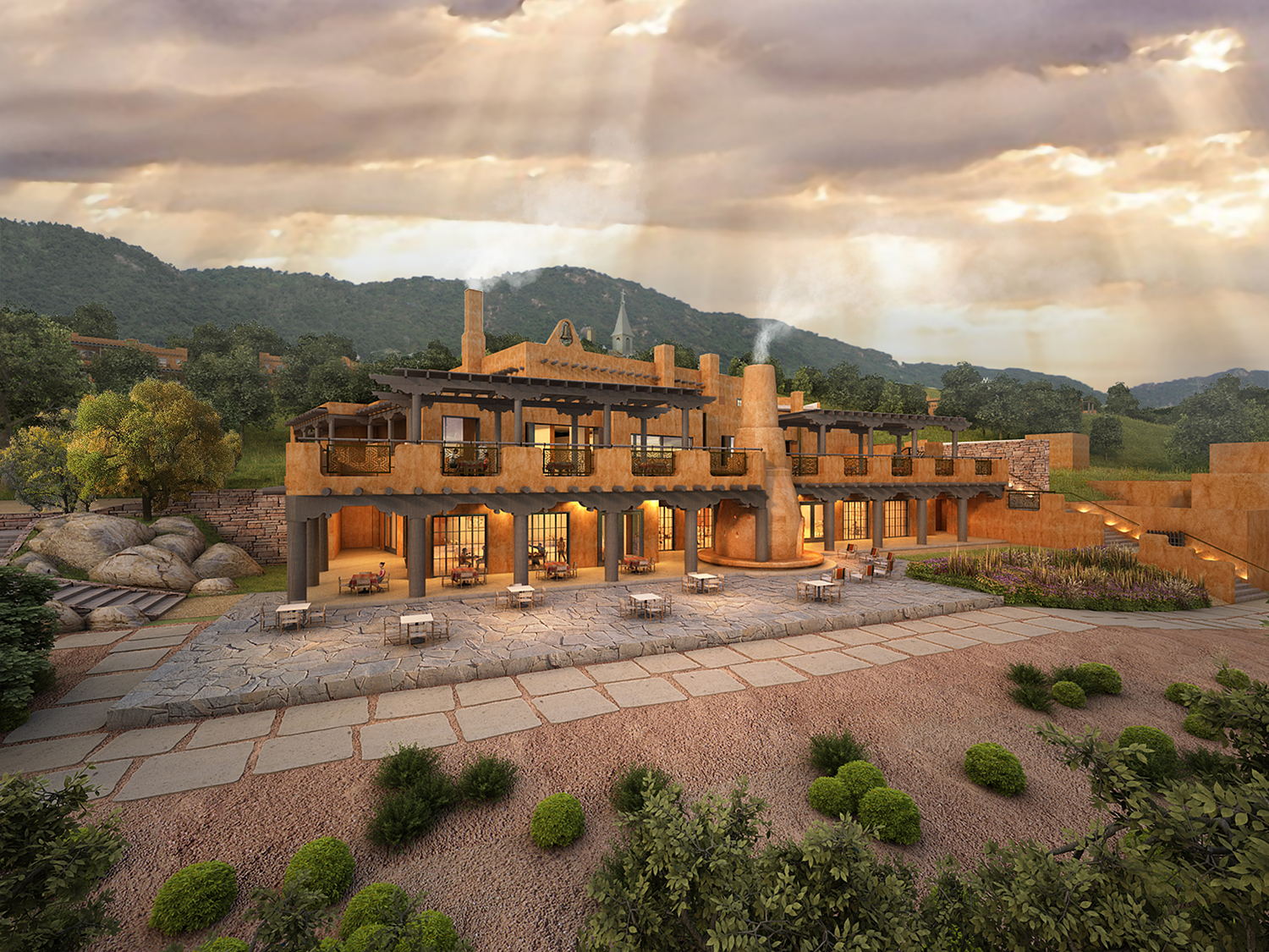Auberge Resorts Collection To Manage Santa Fe S Legendary