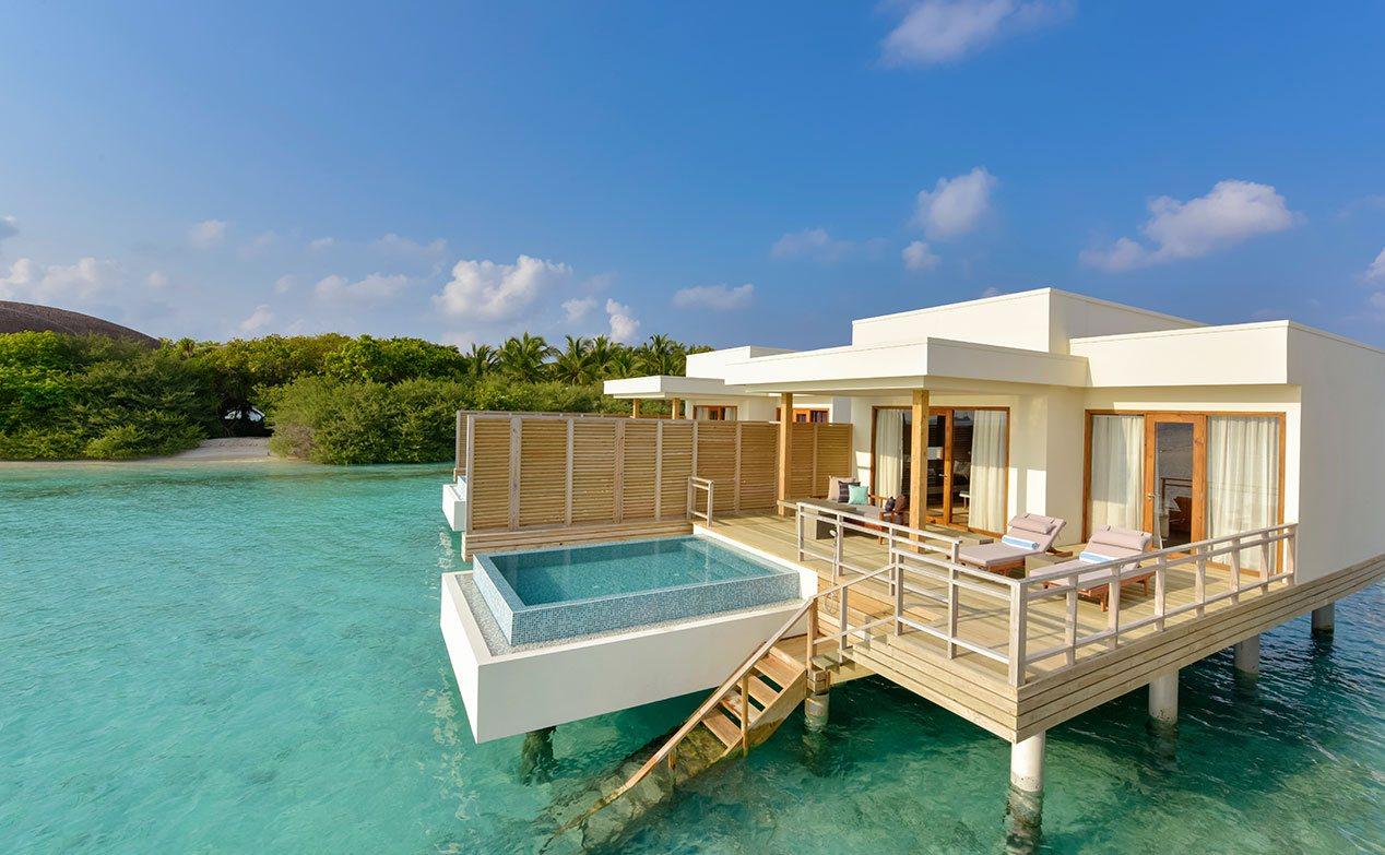 Hasil gambar untuk resort di maldives
