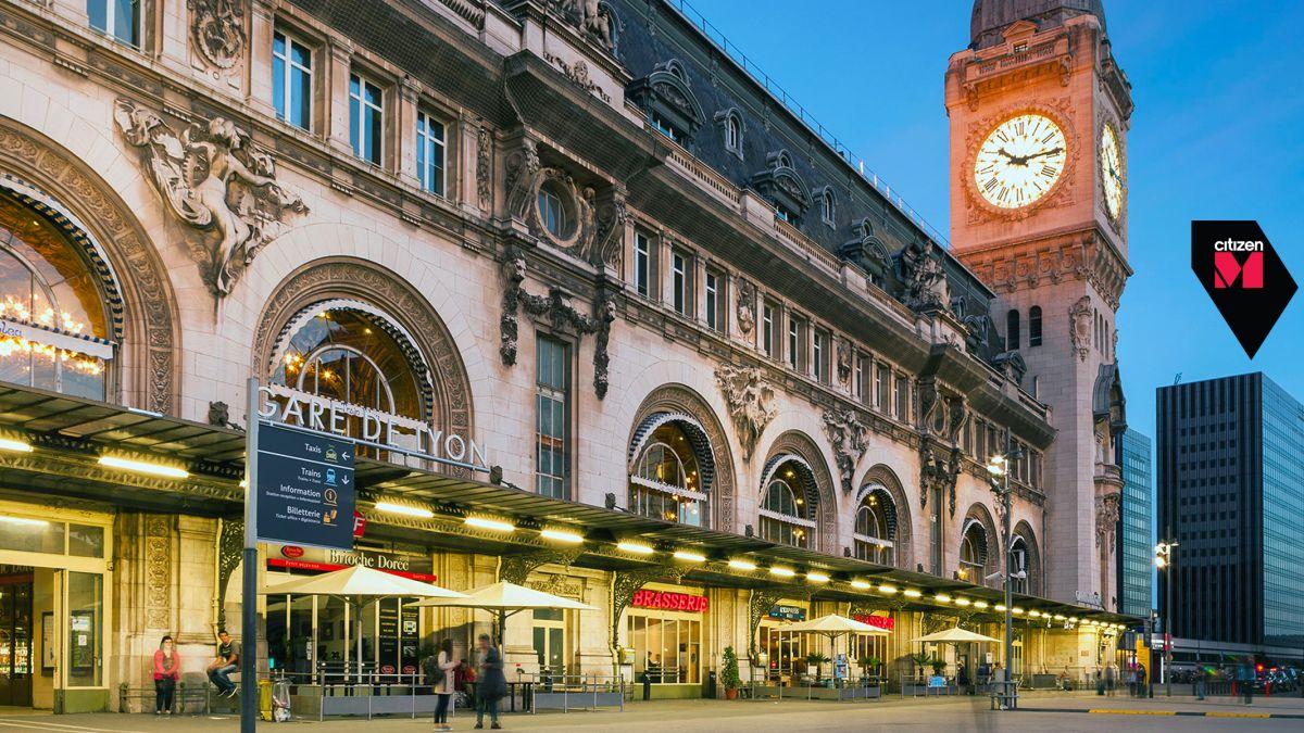 Bonjour Salut citizenM Paris Gare de Lyon opens August 1st