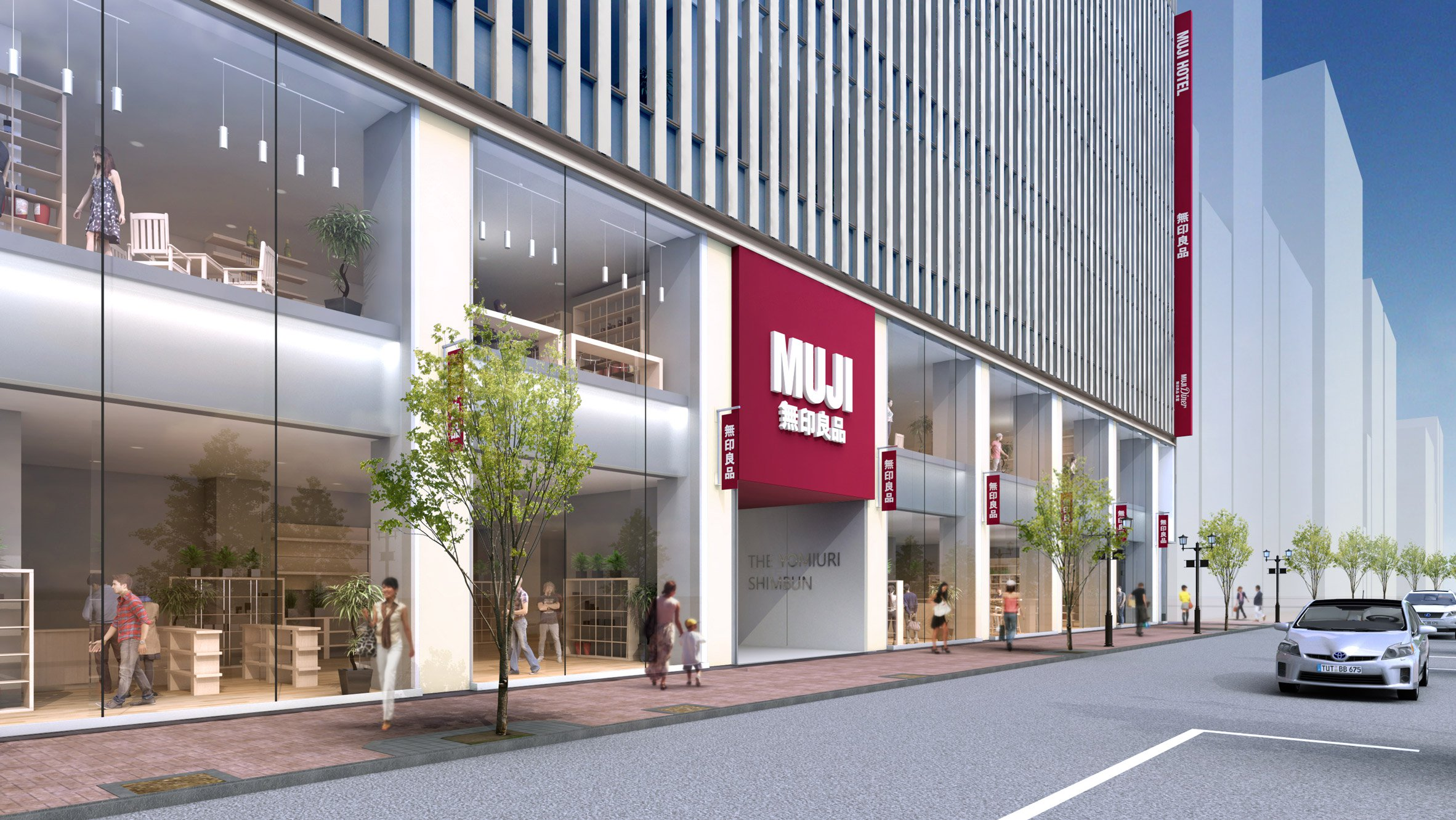 Muji to open hotels in china and japan hospitality net for Design hotel japan