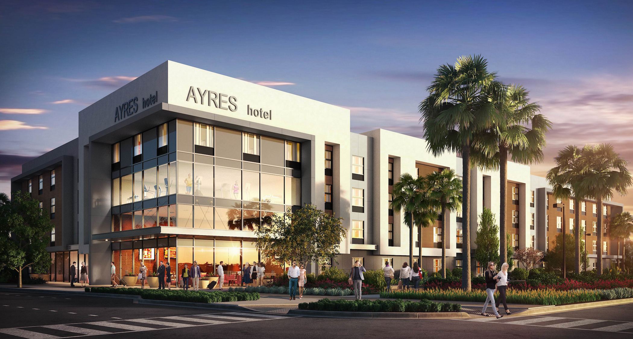 Second Ayres Hotel Planned For San Diego Area