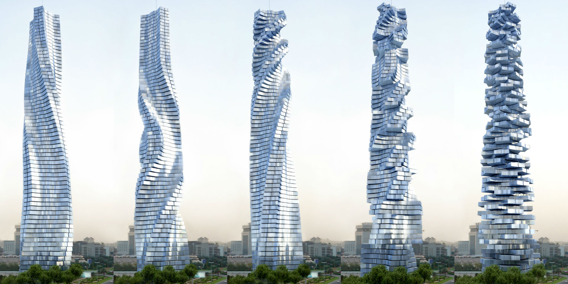Image result for Dubai is building a rotating skyscraper