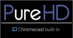 Logo with Chromecast