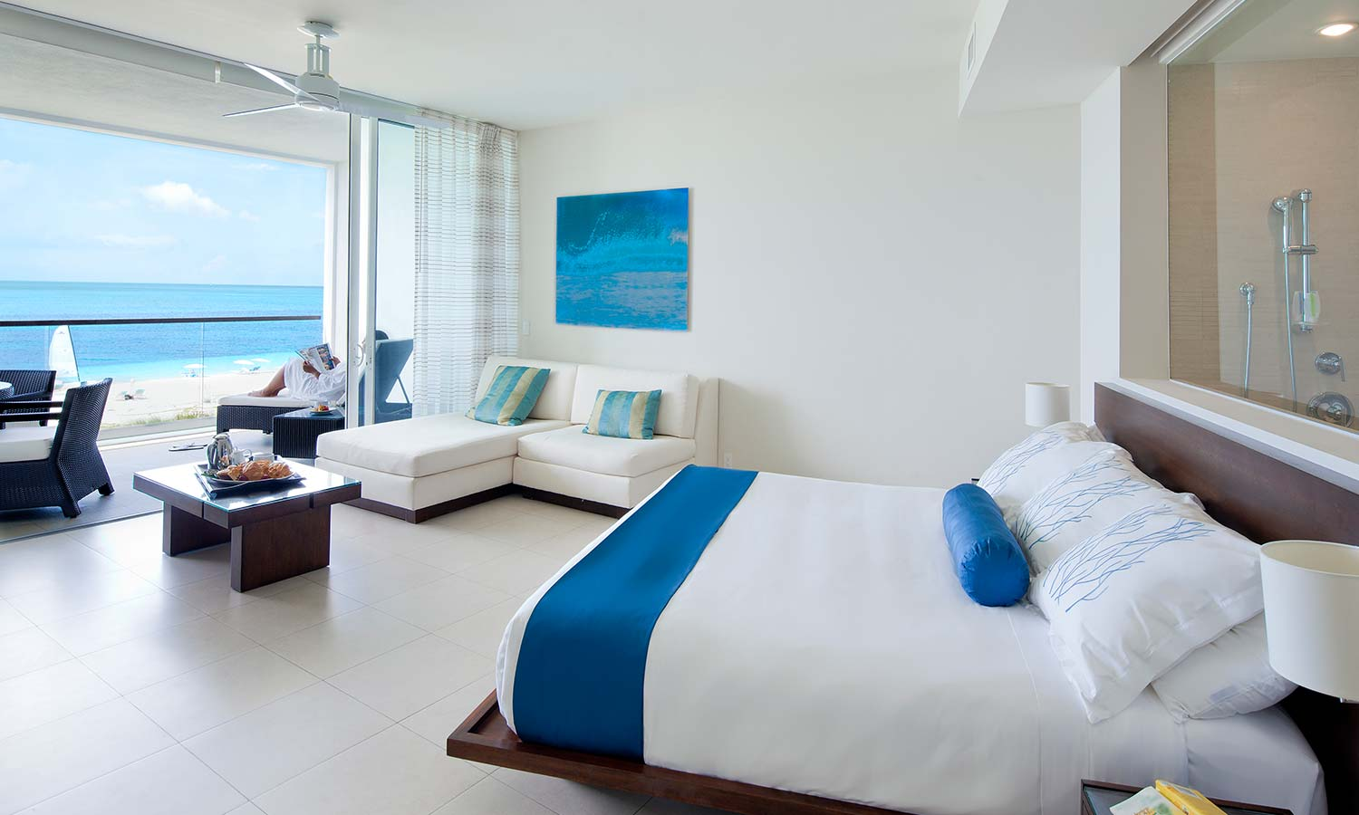 Gansevoort turks caicos reopening oct 5 hospitality net for Small luxury beach resorts