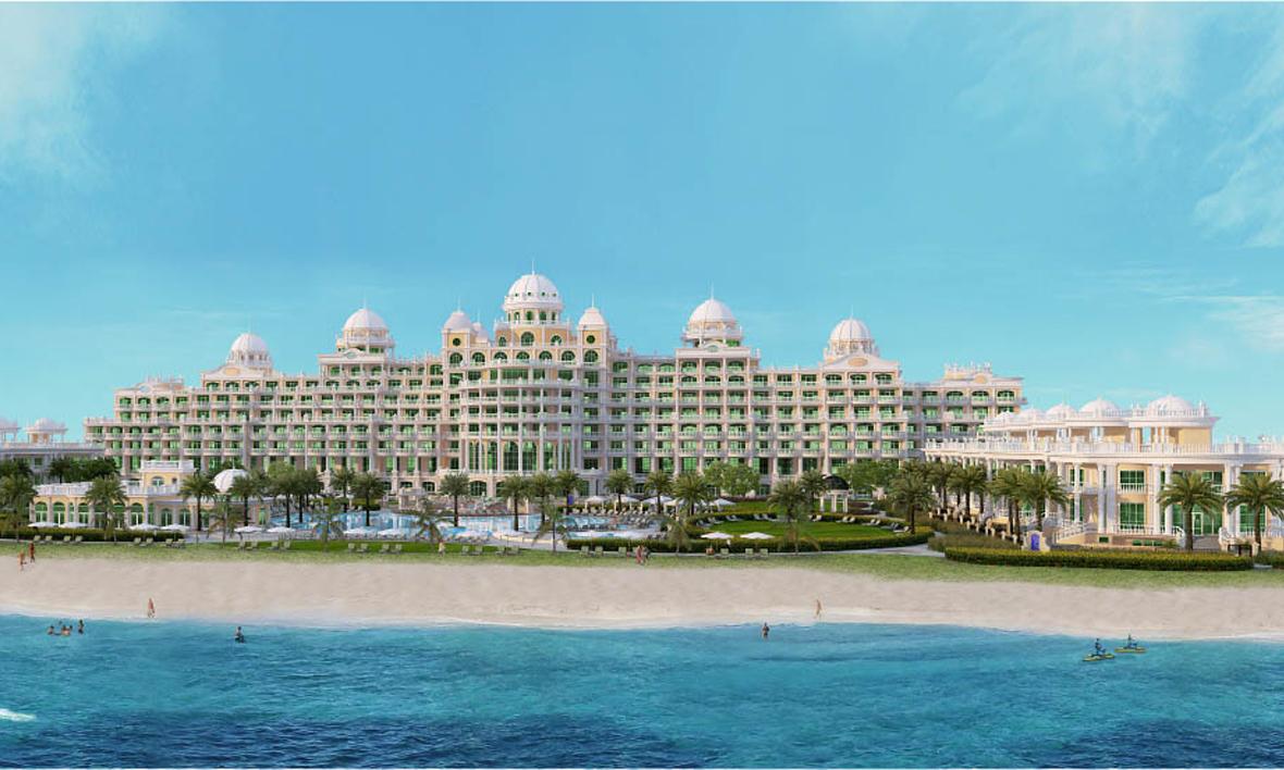 Emerald palace kempinski palm jumeirah dubai opens q2 2018 for Dubai palm hotel
