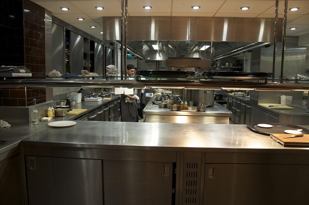 Home Architec Ideas Fast Food Restaurant Kitchen Design
