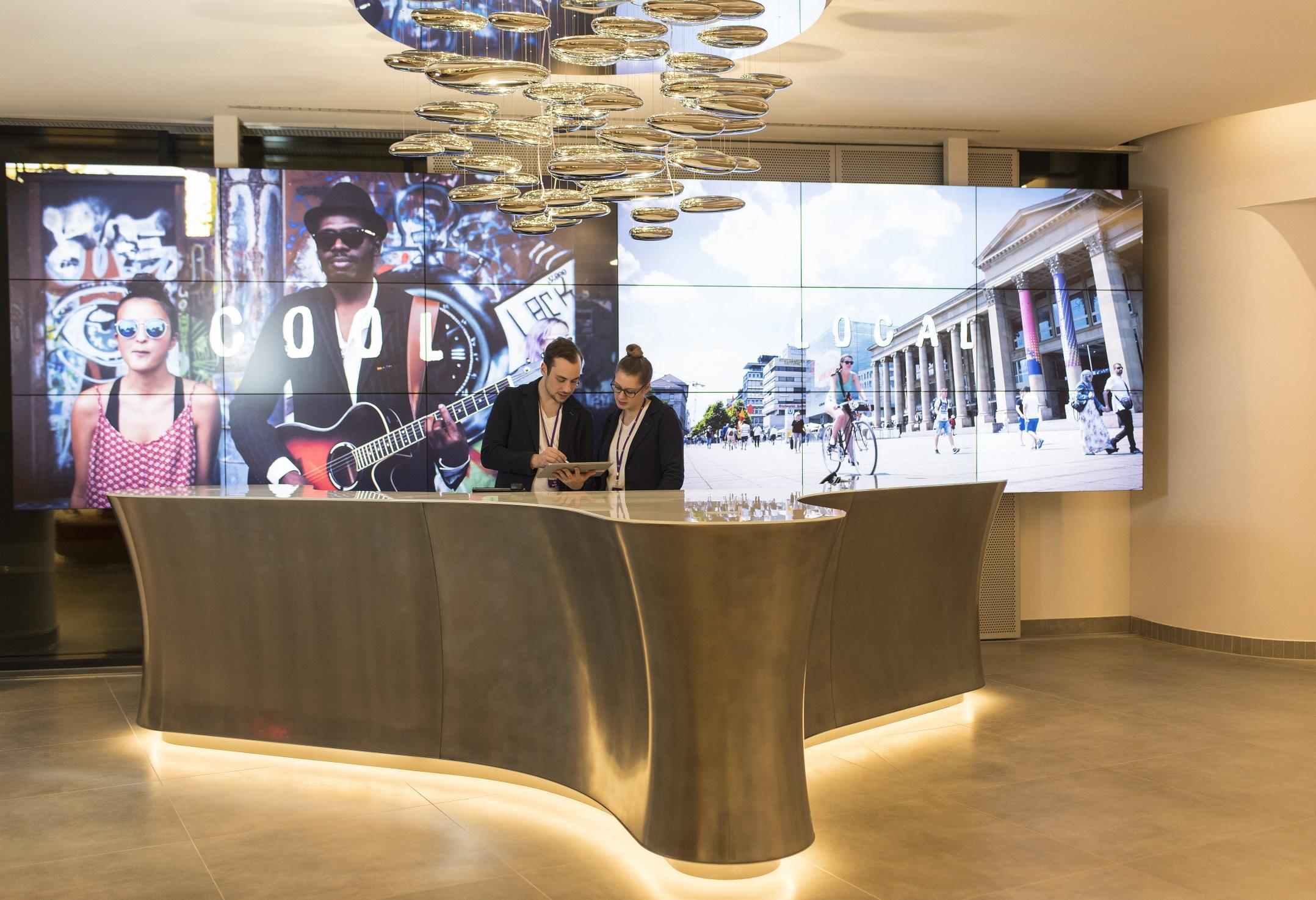Stuttgart has a new jaz in the city hospitality net for Designhotel jaz stuttgart