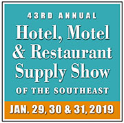 The 43rd Annual Hotel, Motel and Restaurant Supply Show