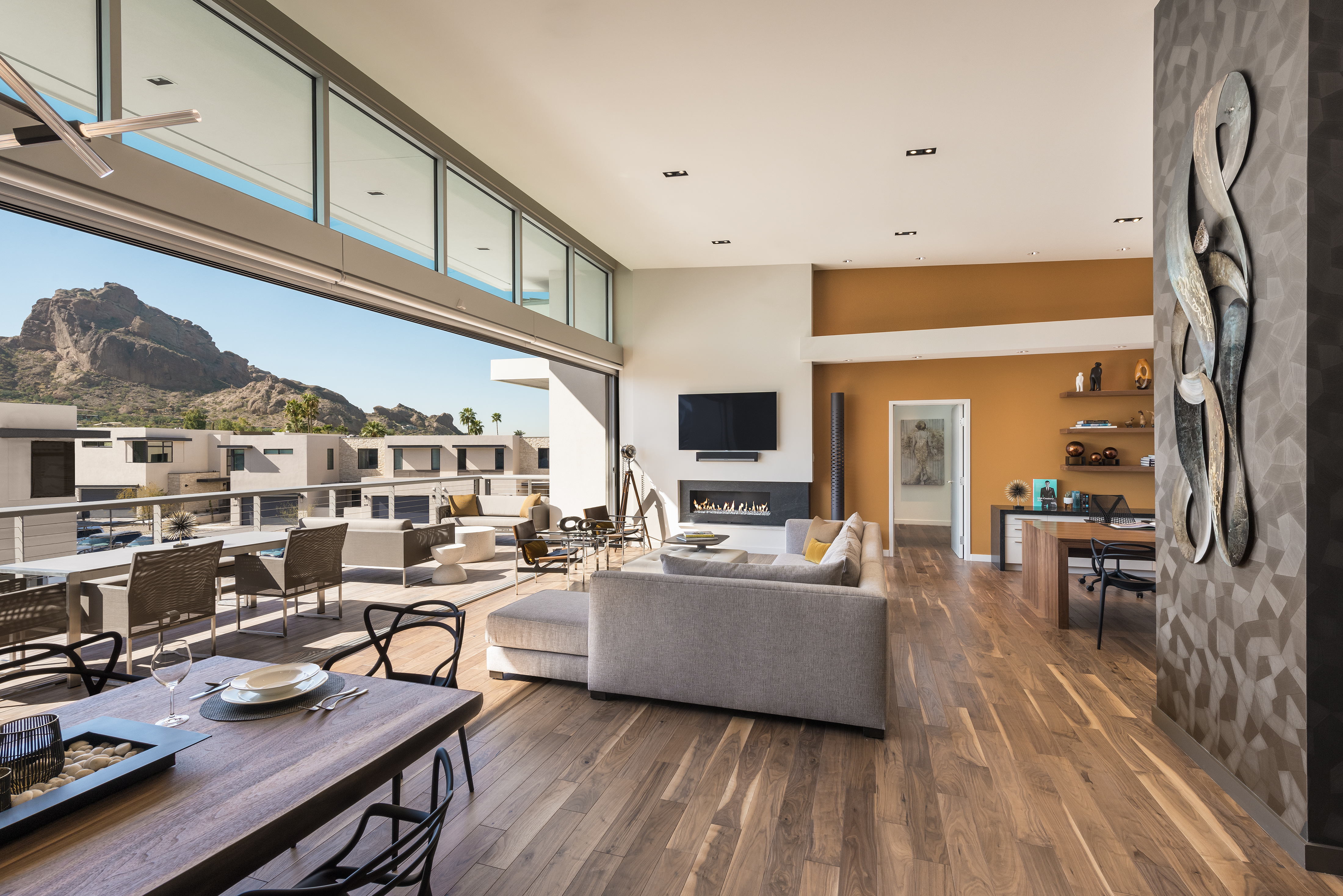 mountain shadows completes resort condominiums and suites, elevating