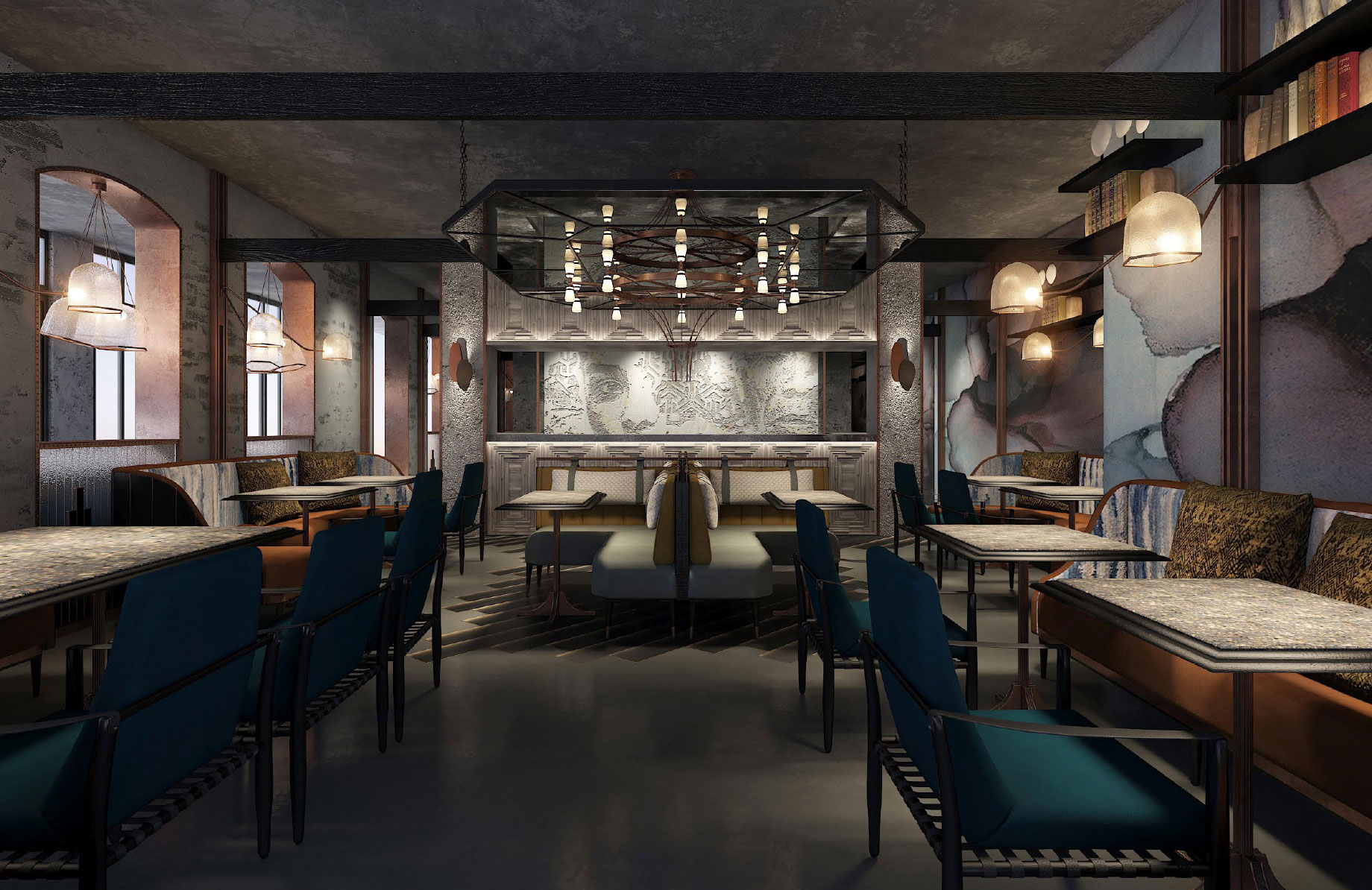 Tortue hamburg opening this summer hospitality net for Interior designer hamburg