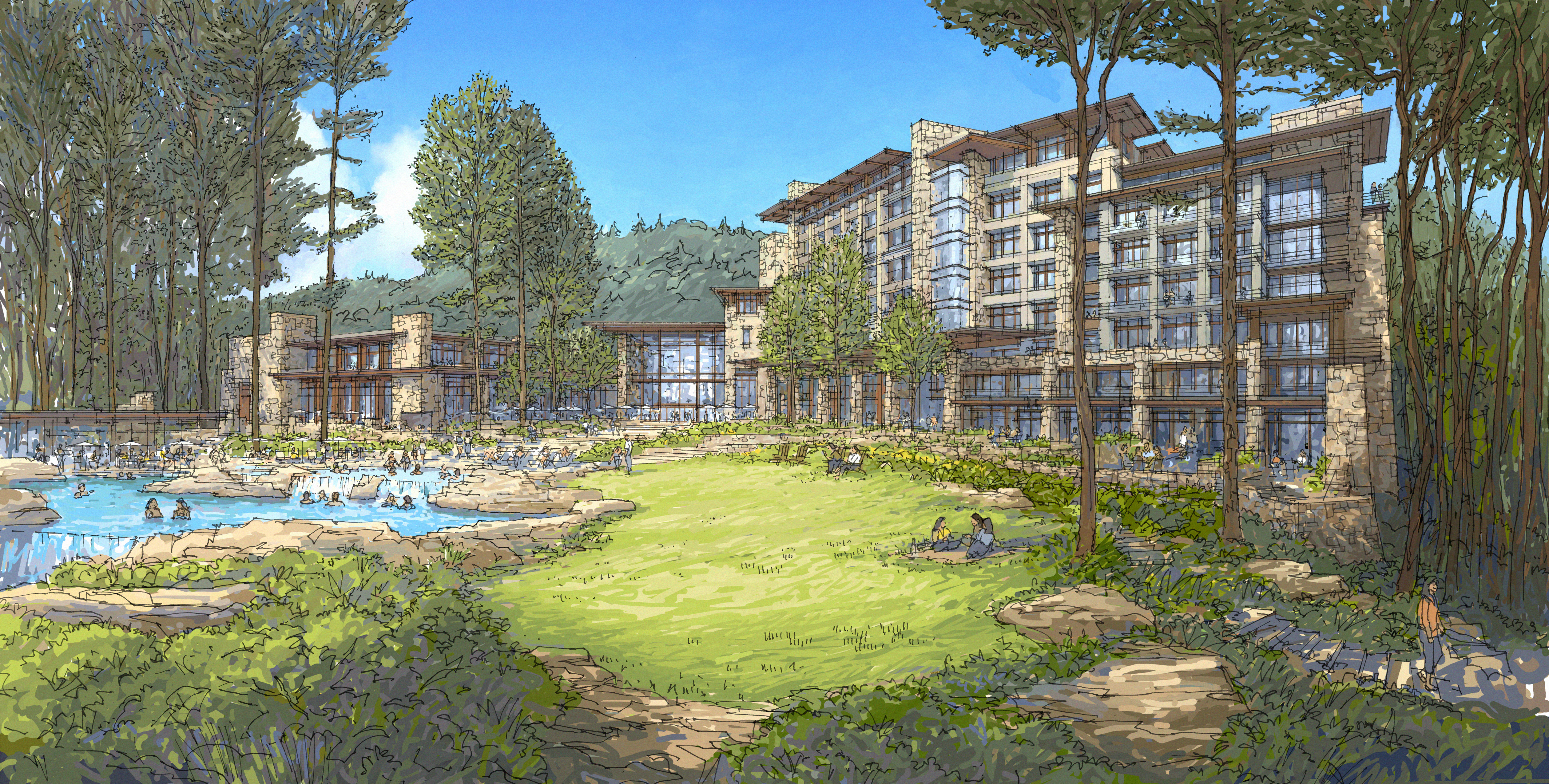 the mclemore resort lookout mountain joins curio collection by