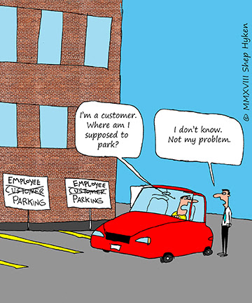 The Difference Between Customer Focus and… NOT
