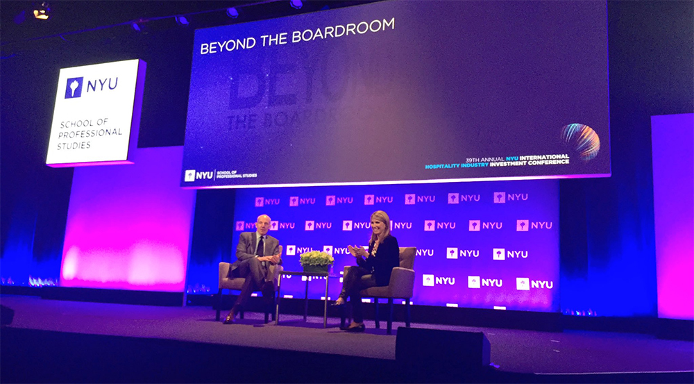 Hospitality Industry Luminaries On Roster For Nyu Conference