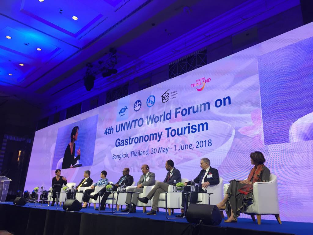Αποτέλεσμα εικόνας για UNWTO World Forum on Gastronomy Tourism – Seizing the power of technology