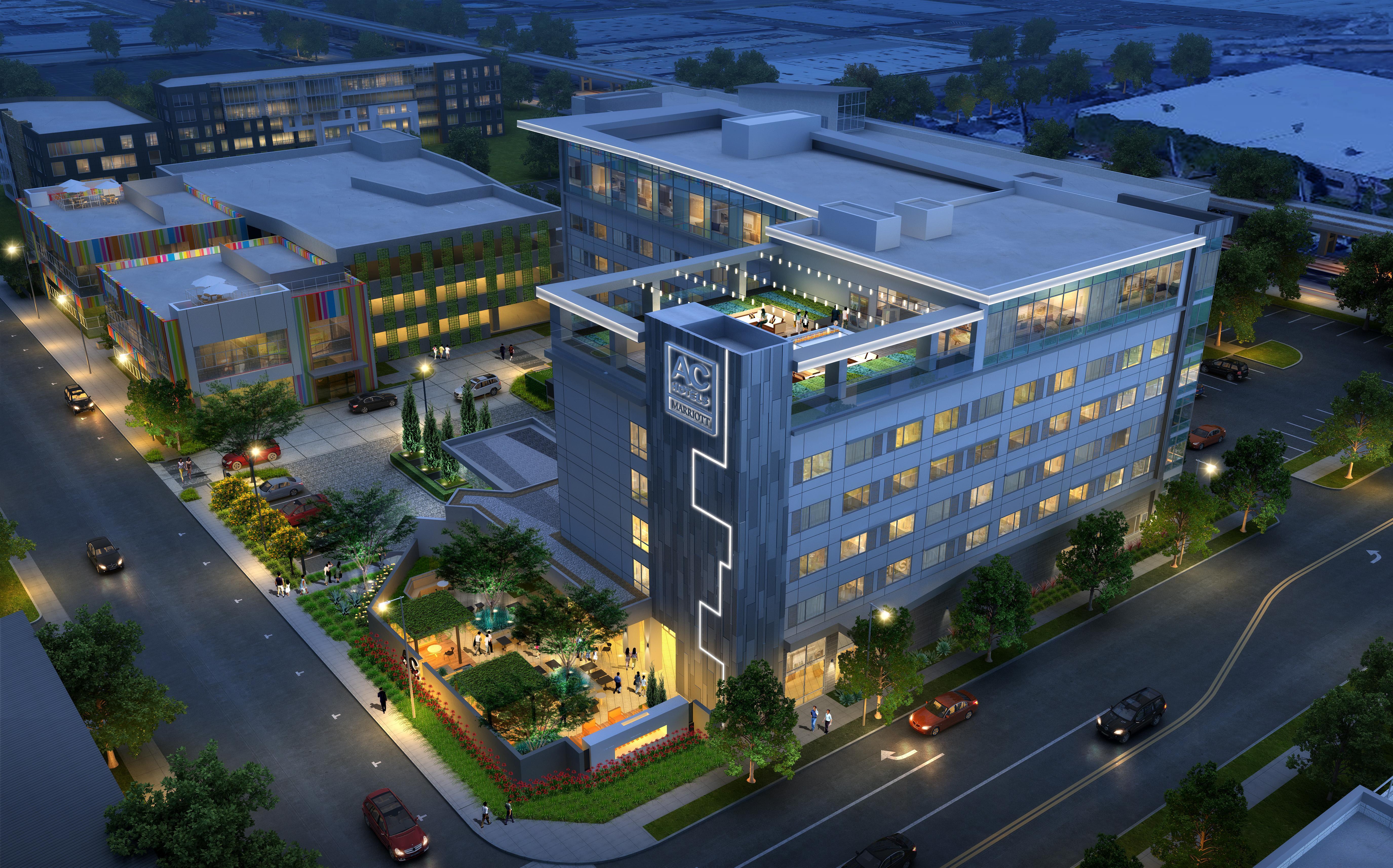 Raytheon El Segundo Campus Map.Construction Commences On Marriott S Ac Hotel In El Segundo