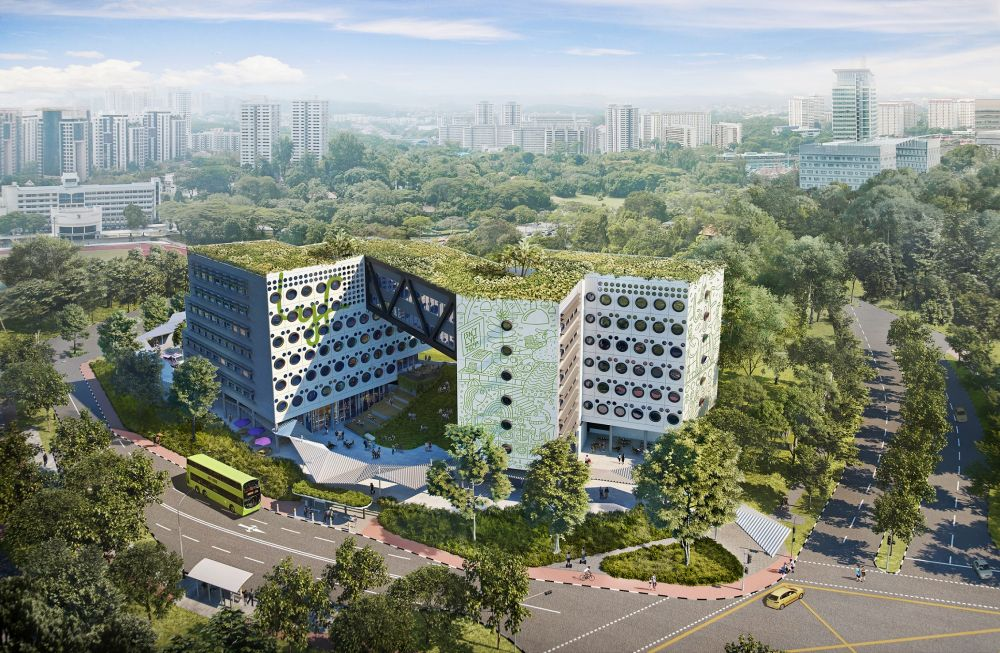 To be named lyf one-north Singapore, the property will