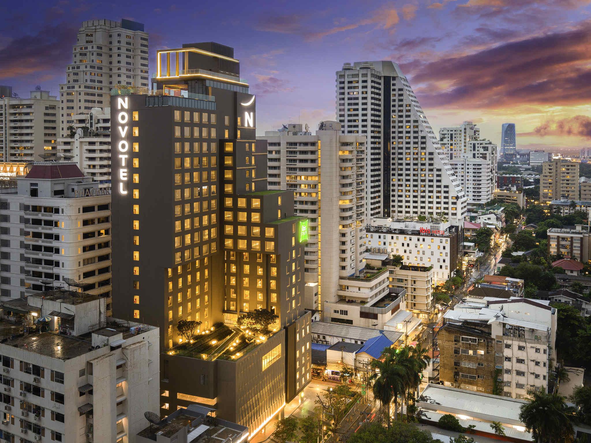 Novotel And Ibis Styles Bangkok Sukhumvit 4