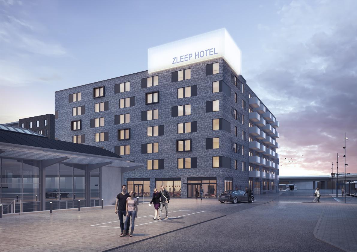 Zleep Hotel Aalborg Is Opening In Central Aalborg Denmark