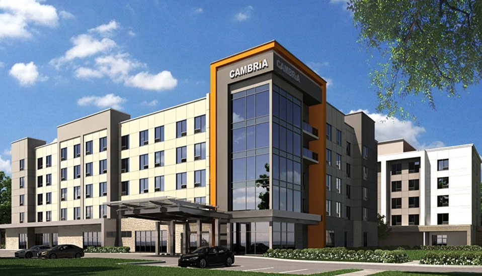 choice hotels to develop new cambria hotel in waco texas. Black Bedroom Furniture Sets. Home Design Ideas
