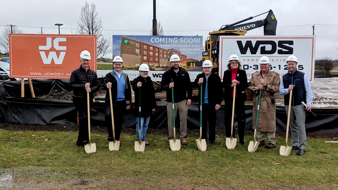 ef4be2c70025b0 Kinseth Hospitality announces groundbreaking on the Holiday Inn Express    Suites hotel in Beaver Dam