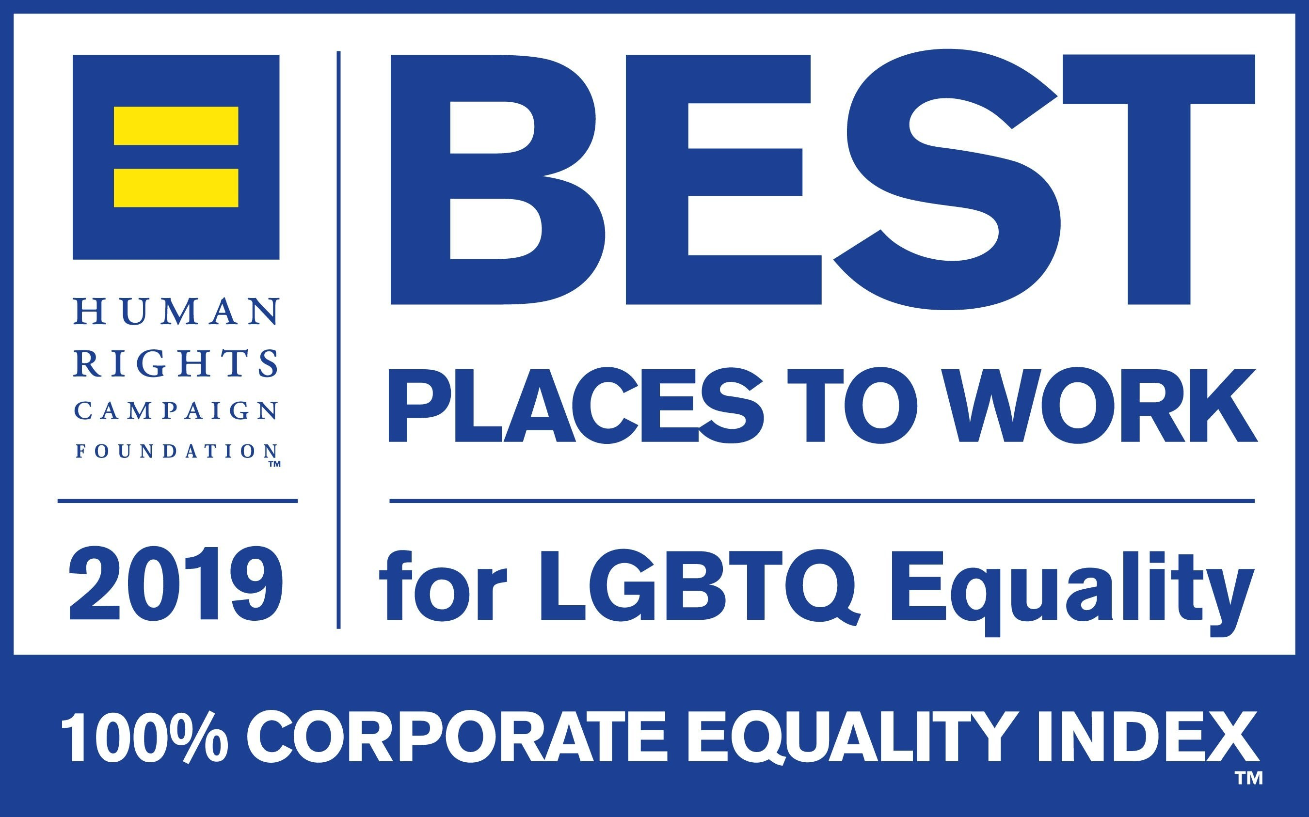"Αποτέλεσμα εικόνας για Best Place to Work for LGBTQ Equality"" for 9th consecutive year"