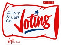 Don't Sleep On Voting' Campaign