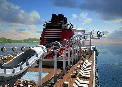 Cruise Ships Add Waterslides & Aqua Parks | Floating Hotel Waterpark Resorts Race to Compete for Families