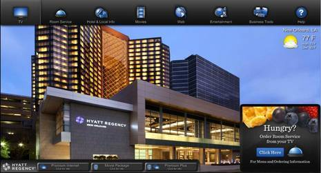 Hyatt Transforms In-Room Television Into Connected, Interactive Entertainment and Concierge Service
