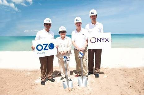 Breaking Ground for the first OZO hotel in Thailand