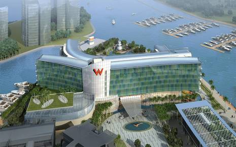 W Hotels Worldwide Brings New Island Glamour to Singapore with the Opening of W Singapore - Sentosa Cove