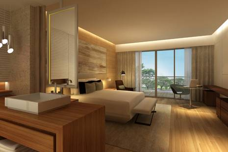 Guestroom at New World Foshan Hotel