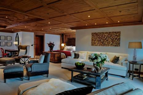 Guestroom at The Alpina Gstaad