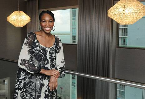 InterContinental Miami - Venus Williams in Metropolis suite second floor