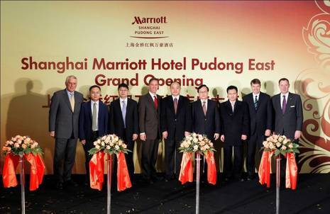 Marriott Hotels & Resorts Continues To Grow In China With The Opening Of The Shanghai Marriott Hotel Pudong East