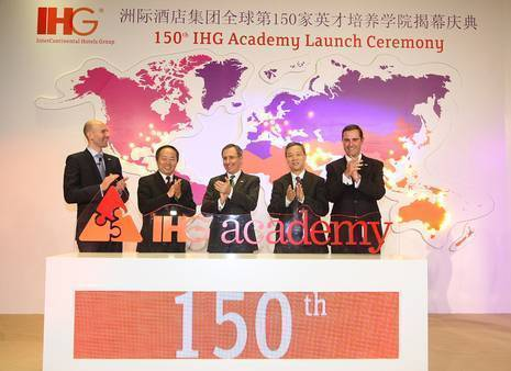 IHG's groundbreaking Academy Programme Celebrates its 150th Partner Globally