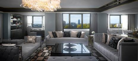 Intercontinental London Park Lane Launches Newly Designed Royal Suite