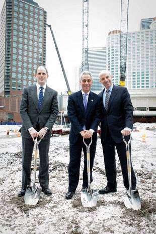 Loews Hotels & Resorts and DRW Trading Group Hold Ceremonial Groundbreaking for Loews Chicago Hotel