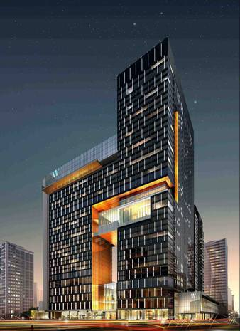 W Guangzhou, set to open this month, will mark the W brand's debut in mainland China