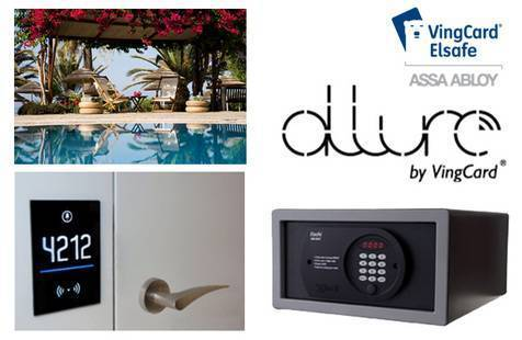 vingcard elsafe s new allure rfid locking system makes global debut at luxury alion beach hotel. Black Bedroom Furniture Sets. Home Design Ideas