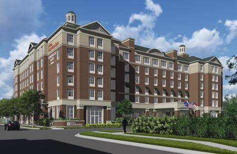 Groundbreaking Occurs For Hilton Garden Inn Homewood Suites Charlotte Southpark In North Carolina