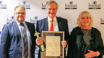 HSMAI Special Award to Norwegian CEO Bjorn Kjos