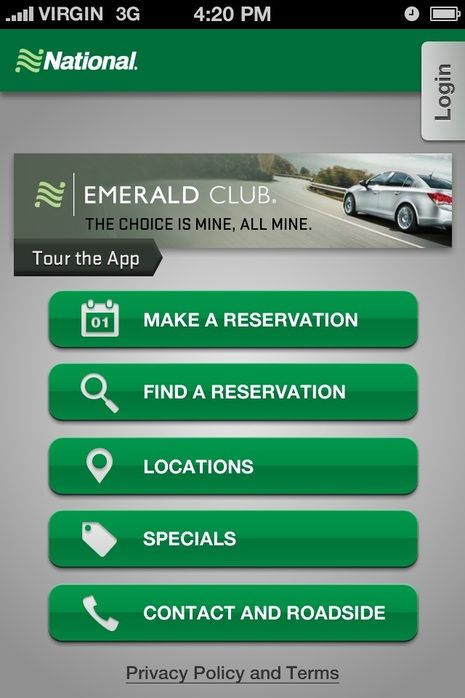 National Car Rental Increases Efficiency For Business Travelers With