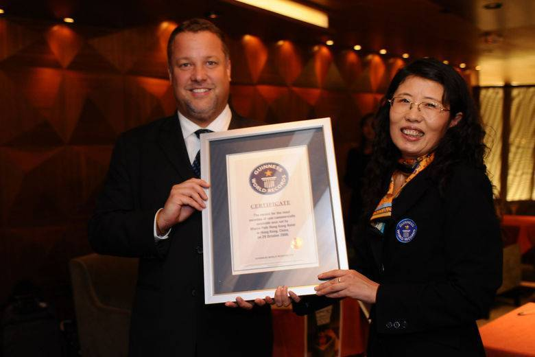 A Guinness World Record For Marco Polo Hongkong Hotel
