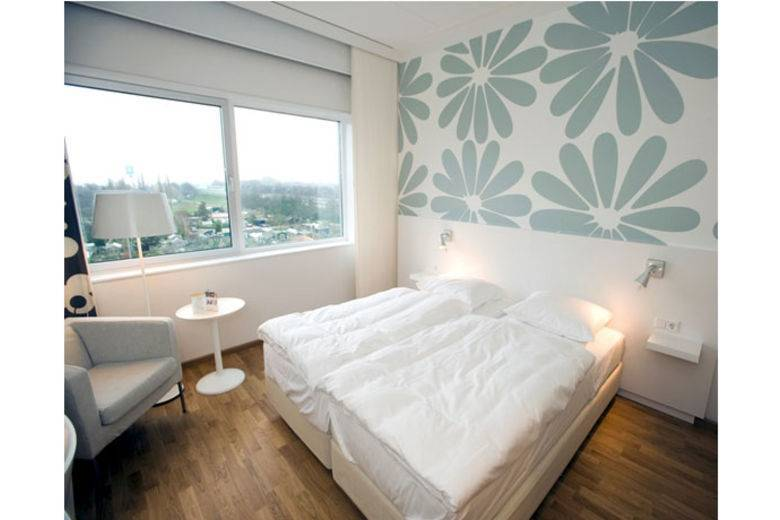 New Tulip Inn opened near Ikea Concept Center in Delft, The Netherlands; Interior exclusively furnished by Ikea