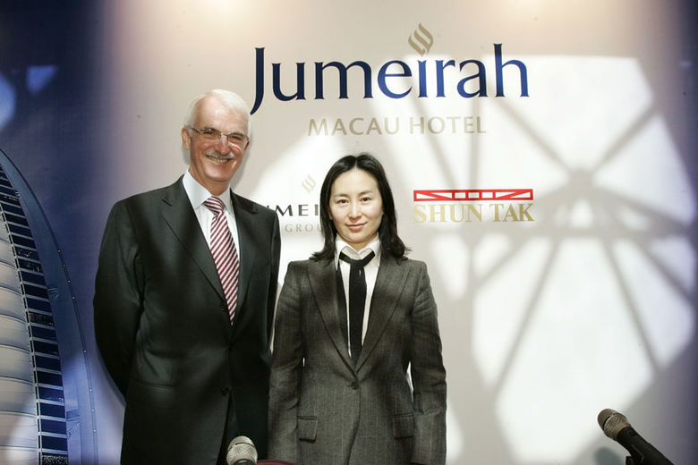 Shun Tak and Jumeirah Group sign management agreement for five-star deluxe hotel in the Cotai area of Macau