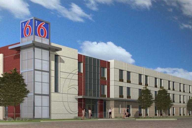 Motel 6 breaks ground on new greener design to illustrate for Design hotel 6